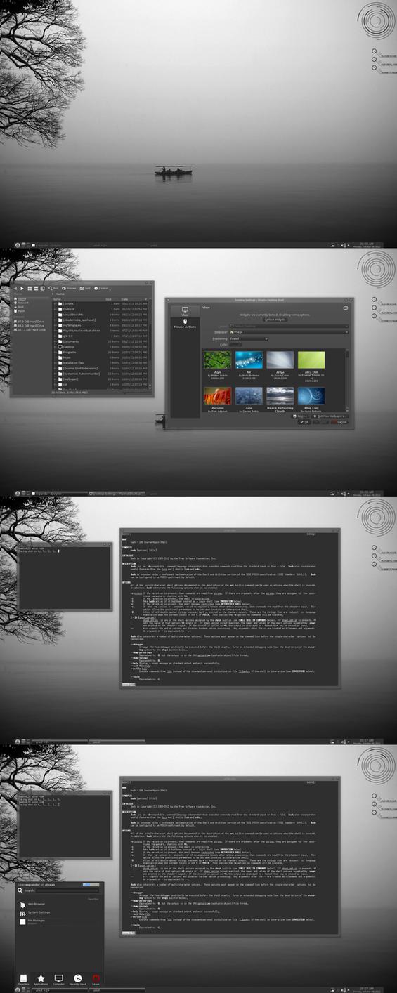KDE Goes Grey by xeXpanderx