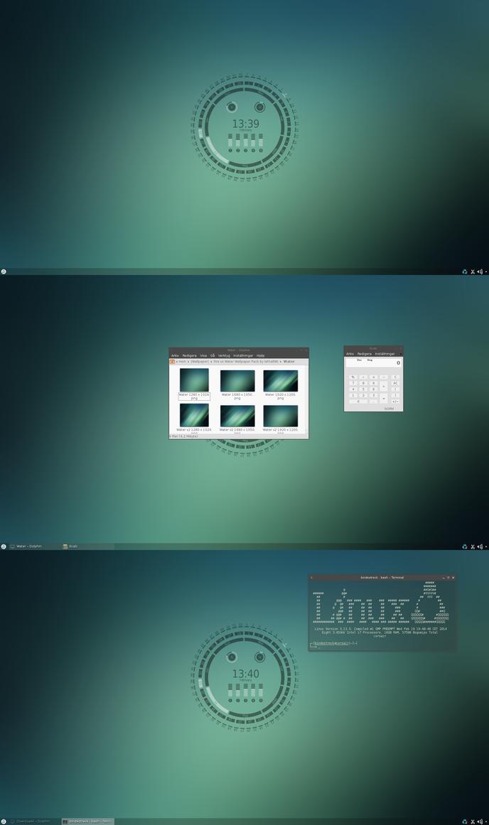 Conky Calendar Extra Slackware 2 by xeXpanderx