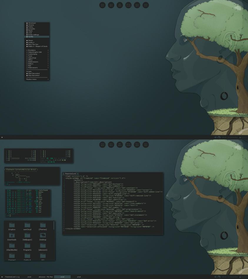 Fluxbox Treemind by xeXpanderx