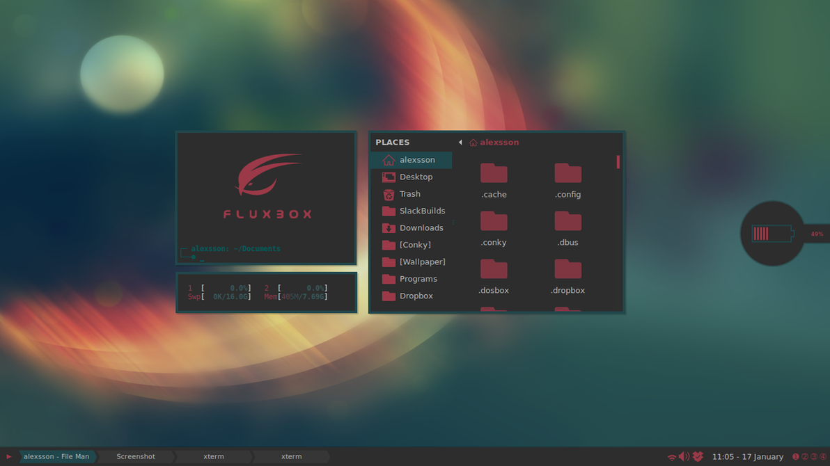 Slackware 2017 by xeXpanderx
