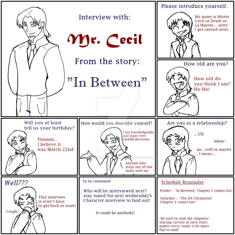 Interview with Mister Cecil by MusokaDeception