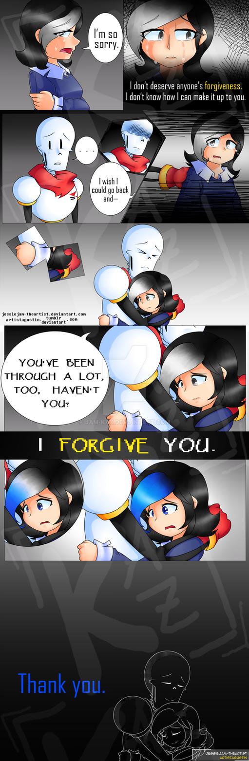 I FORGIVE YOU. | Glitchtale Fancomic by JessieJAM-TheArtist