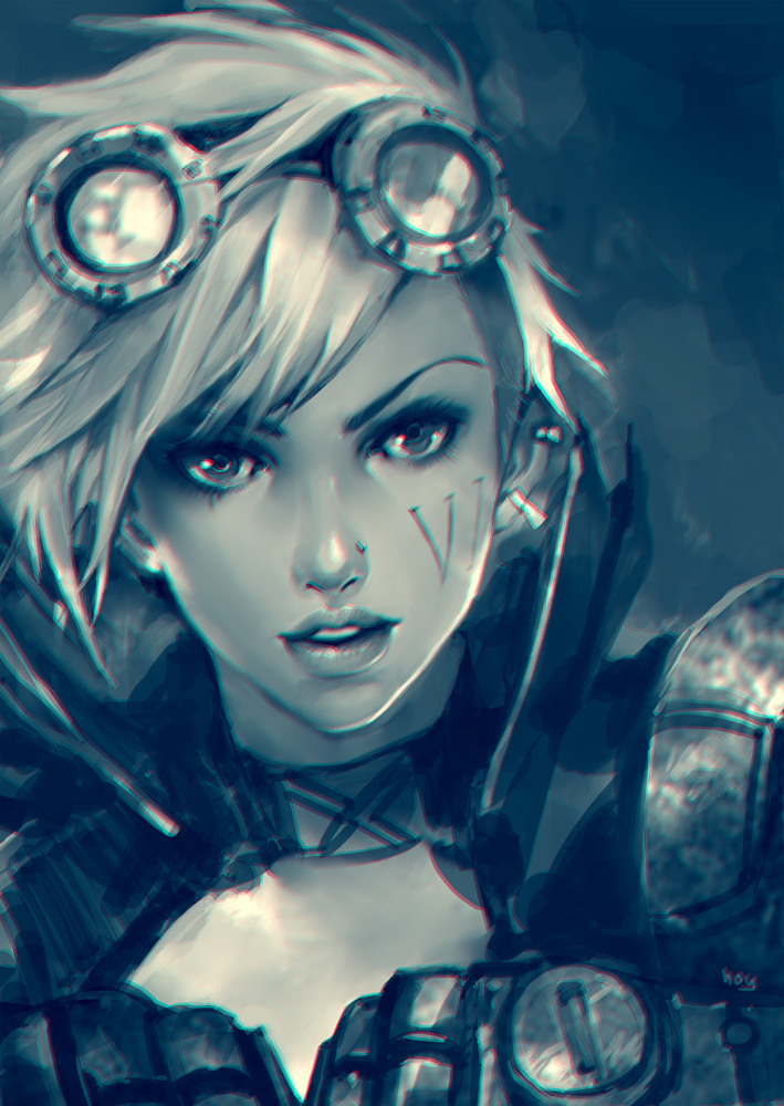 VI lol fanart by hoyhoykung on DeviantArt