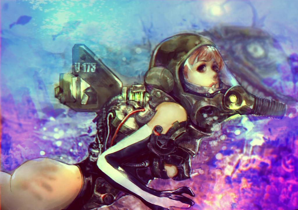 Underwaterwear by hoyhoykung