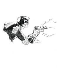 Dredd. by 7thOdd