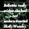 Bellatrix Lestrange. by thysilverdoe