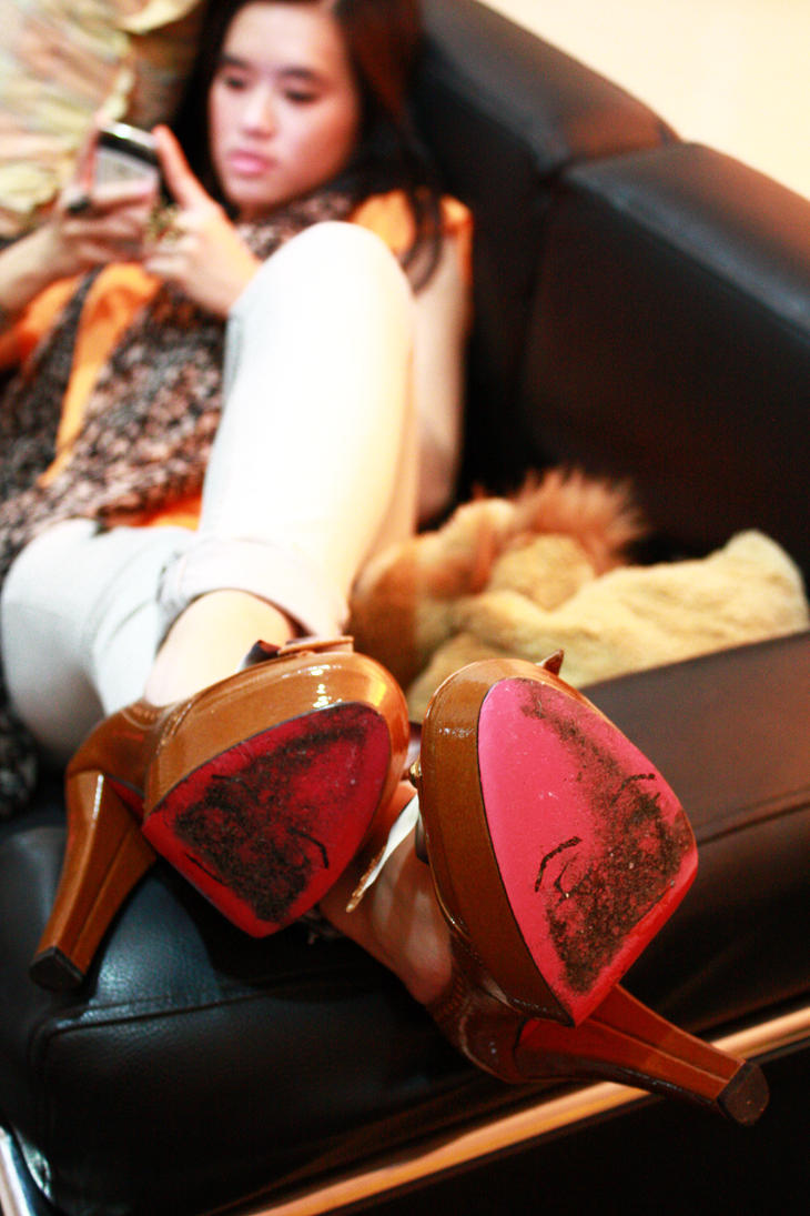 The pink sole by shuttershade