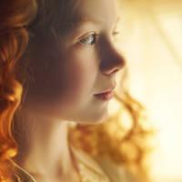 little girl by Vladimir-Serov