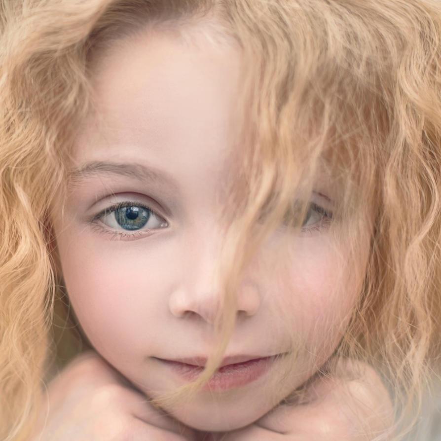 beautiful young lady by Vladimir-Serov