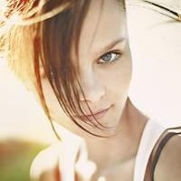 Brunette girl by Vladimir-Serov