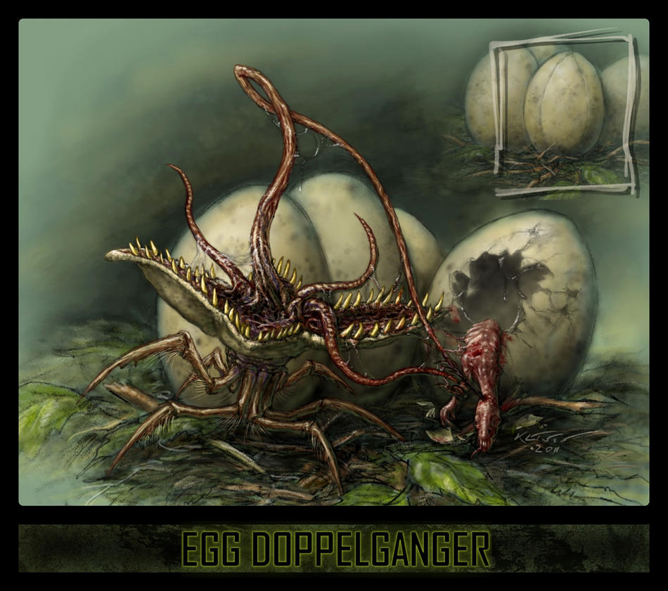 Egg Doppelganger by Eclectixx