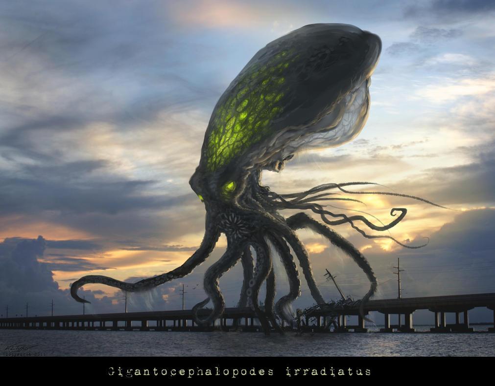 Gigantocephalopodes irradiatus by Eclectixx