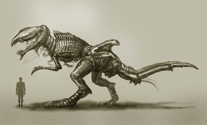 Large Land Predator Arthropod by Eclectixx