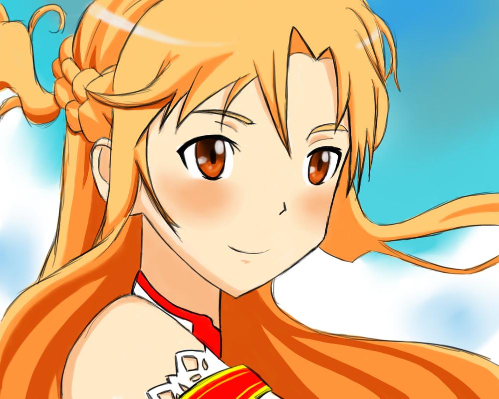 Asuna by unchainxmxhrt
