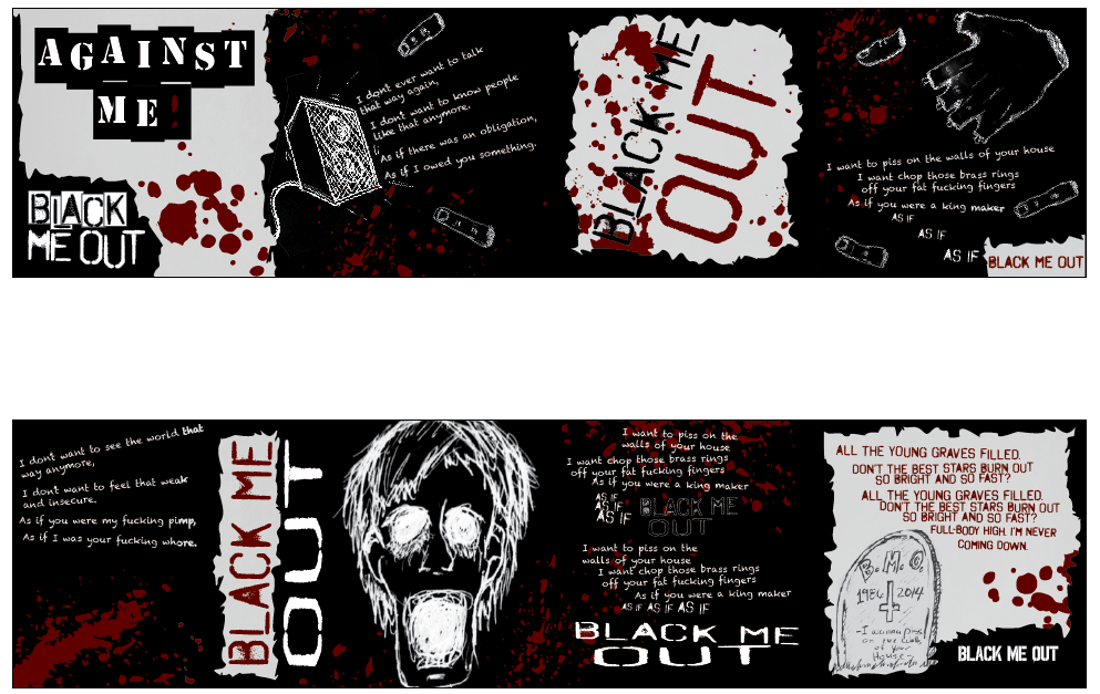 Black Me Out (CD Insert Design) by MathewScotArt