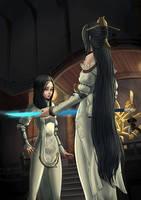 Jinsoyun and Jiwan by KolgaArt