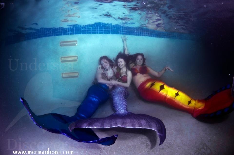 Mermaid Friends by Mermaid-Iona