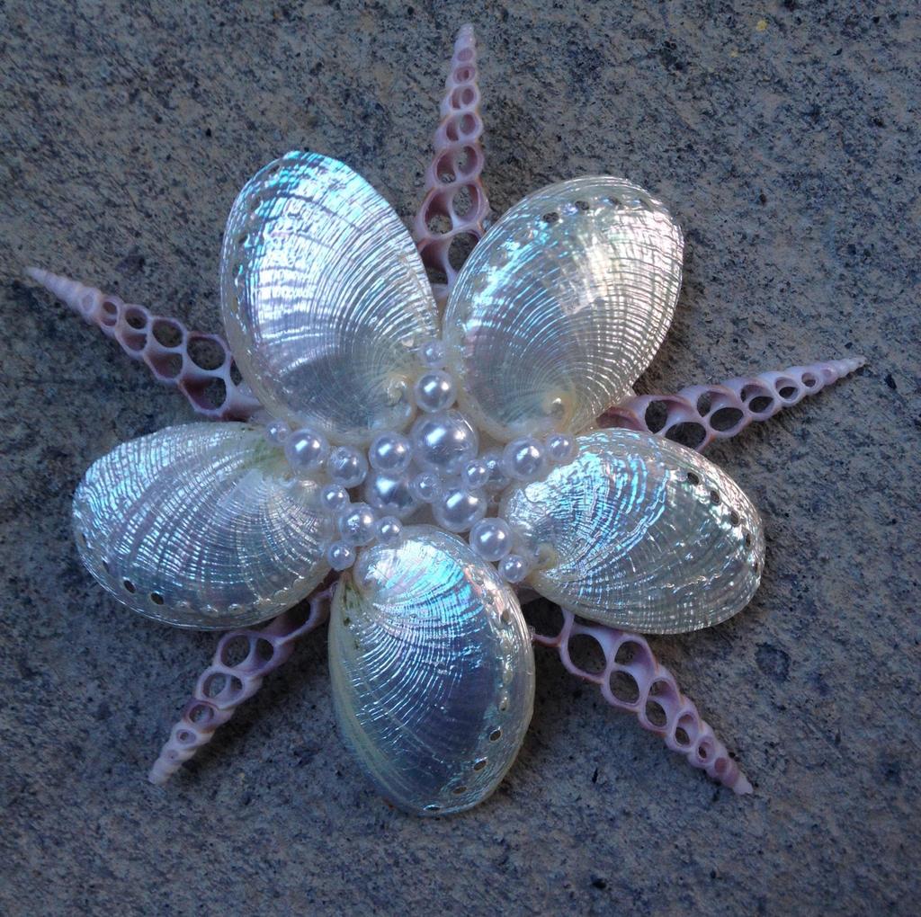 Sea Star Mermaid Hair Clip by Mermaid-Iona on DeviantArt