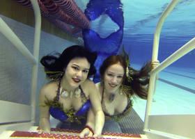 Iona and Oceana by Mermaid-Iona