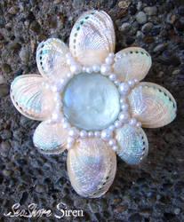 Seaflower Abalone Mermaid Hair Clip