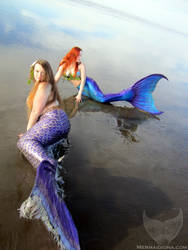 Mermaids on the Shore
