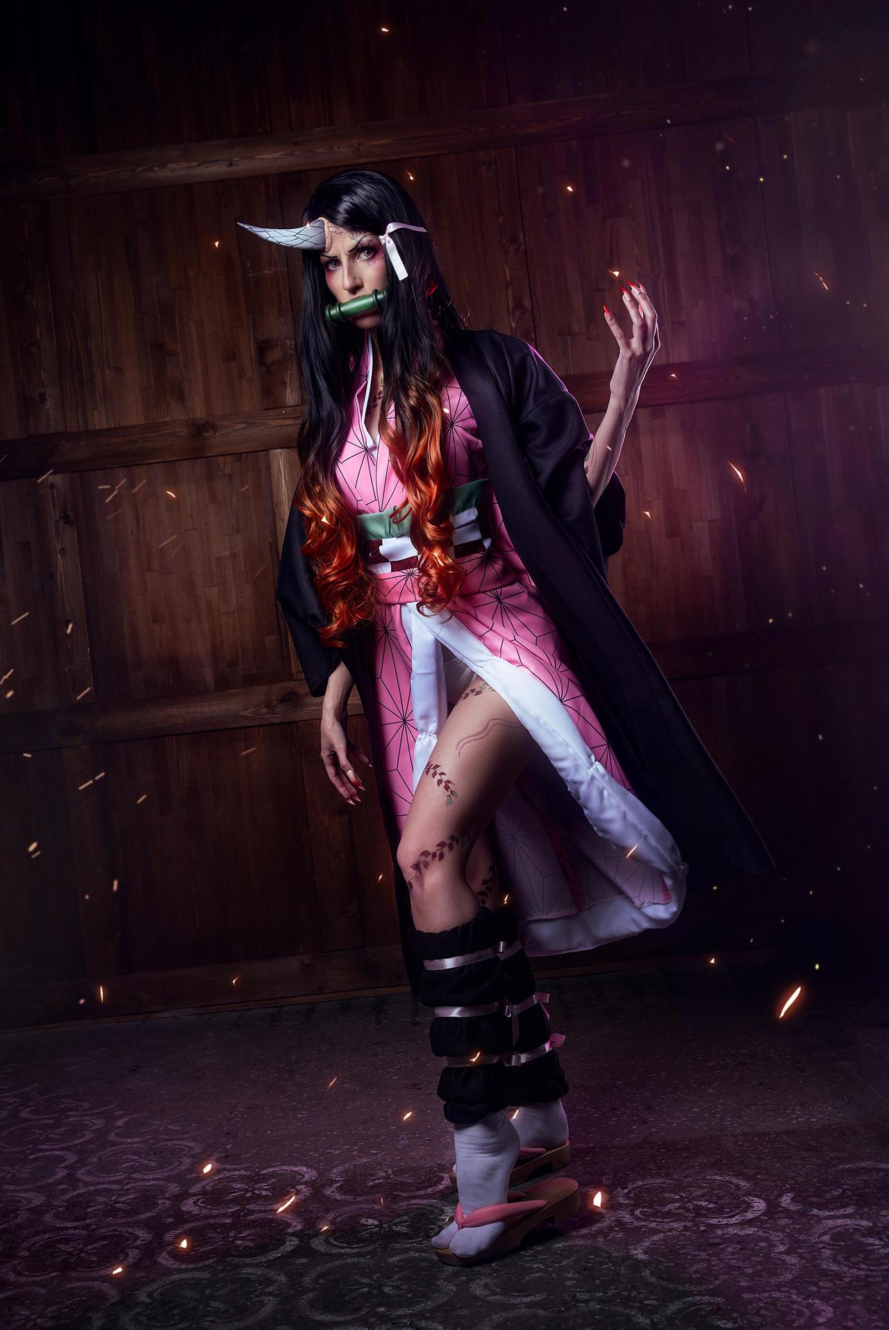 Demon Nezuko cosplay 1
