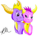 Spyro and Ember Love
