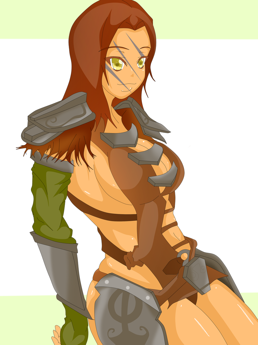 Aela The Huntress by Banga-kun