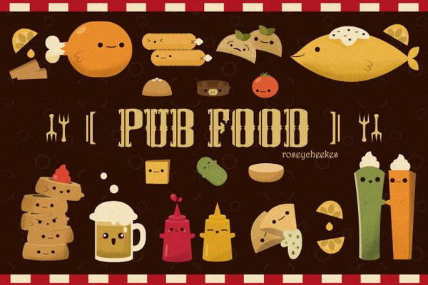 Yummilicious Pub Food by orangecircle