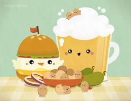 Bar Food by RoseyCheekes