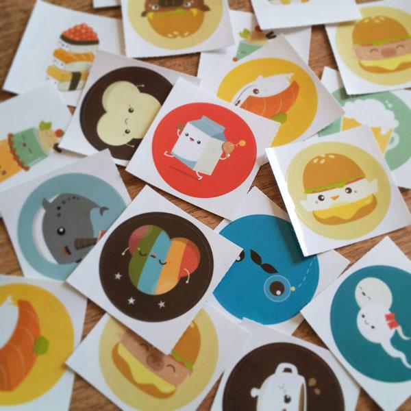 Stickers by orangecircle