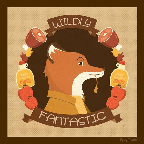 Wildly Fantastic Mr. Fox by orangecircle