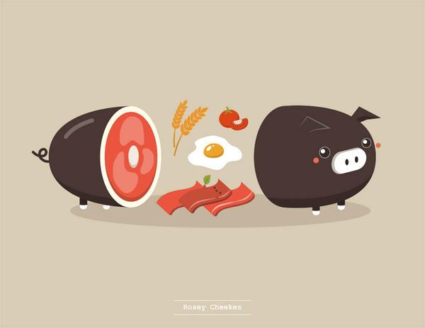 Breakfast in its Original Form by orangecircle
