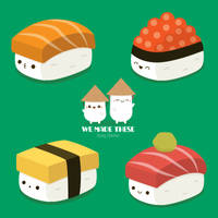 Sushi Time! by RoseyCheekes