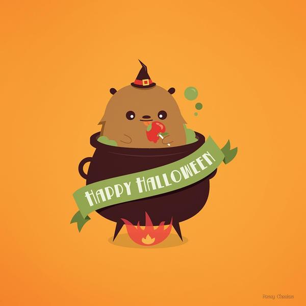 Happy Halloween! by orangecircle