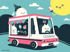 Ice Ice Baby Ice Cream Truck by RoseyCheekes