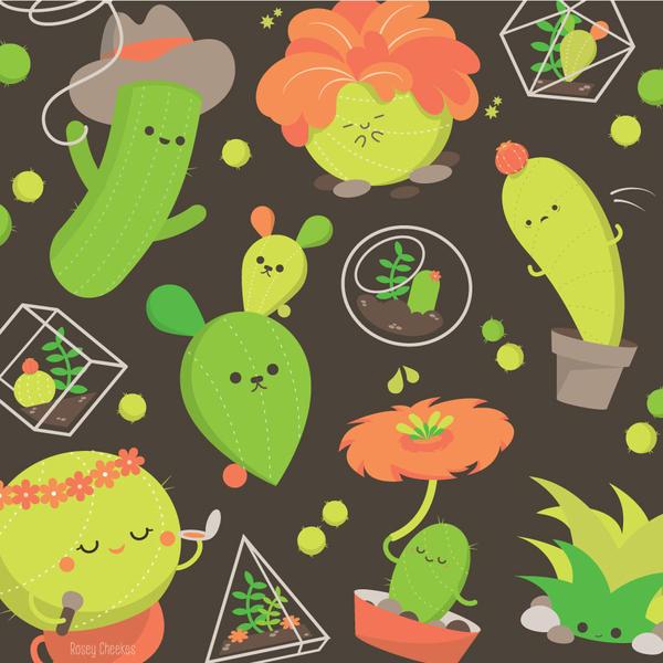 Cactus Club by RoseyCheekes