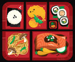 Bento Box by RoseyCheekes