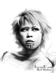 Kyo Portrait by GracefulAssasin