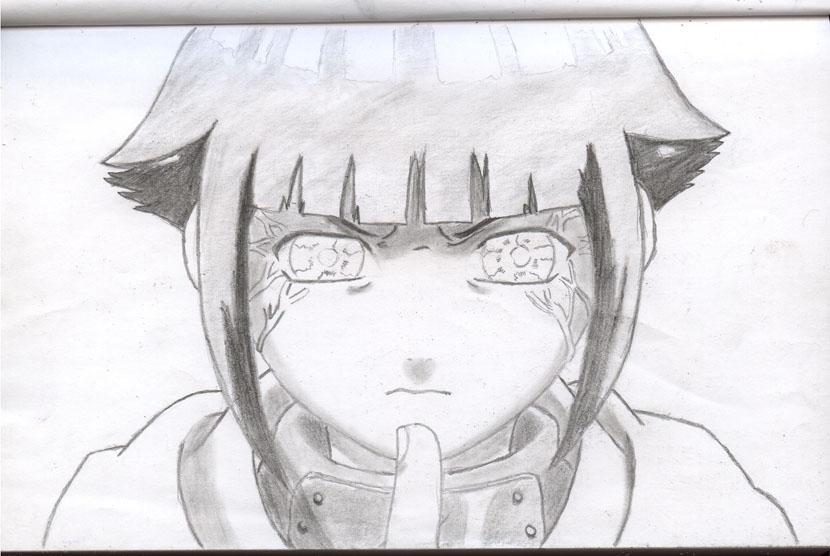 Hinata Byakugan by eLimakike on DeviantArt