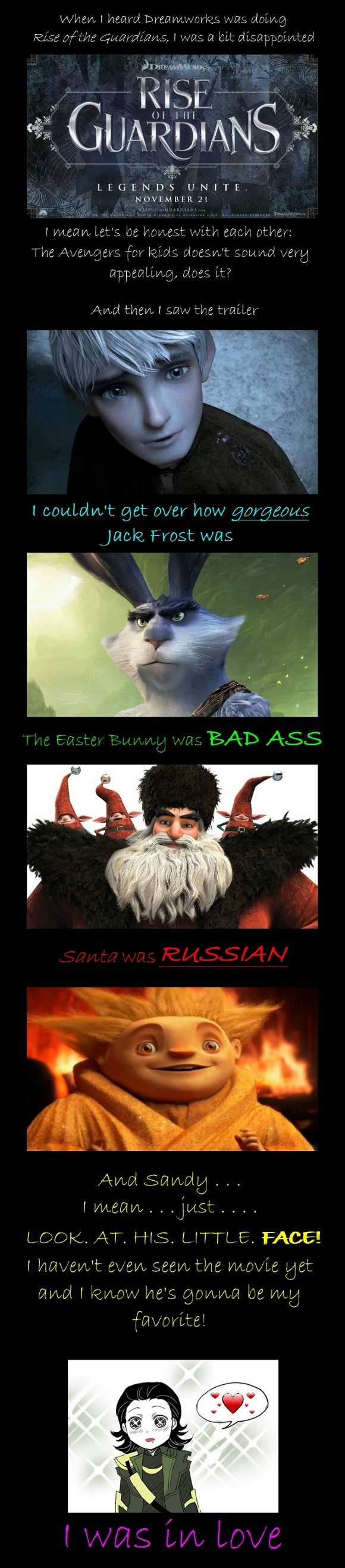 Rise of the Guardians by BFTLandMWandSEK