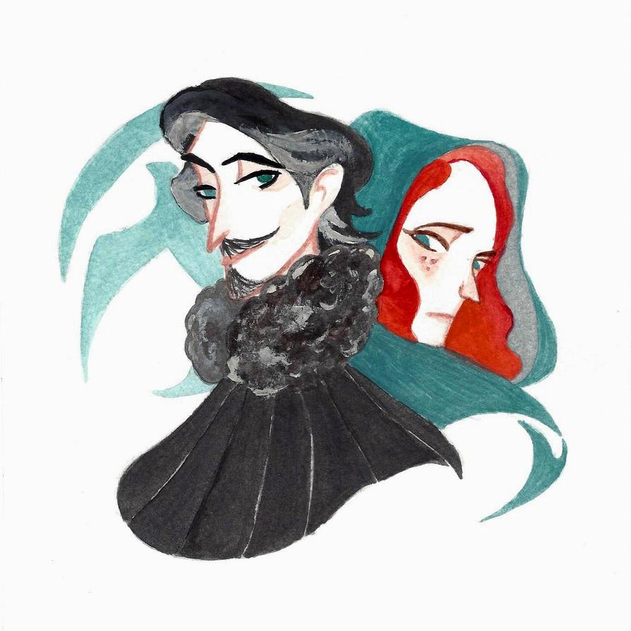 Petyr Baelish and Sansa Stark by BFTLandMWandSEK
