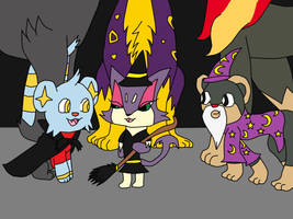 Trick or Treating with friends! Contest by KittyHawk456