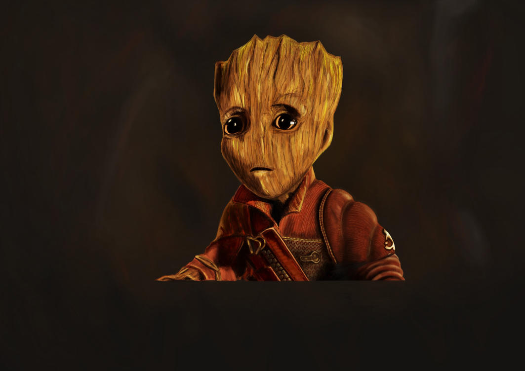 I am Groot by Wivelrod