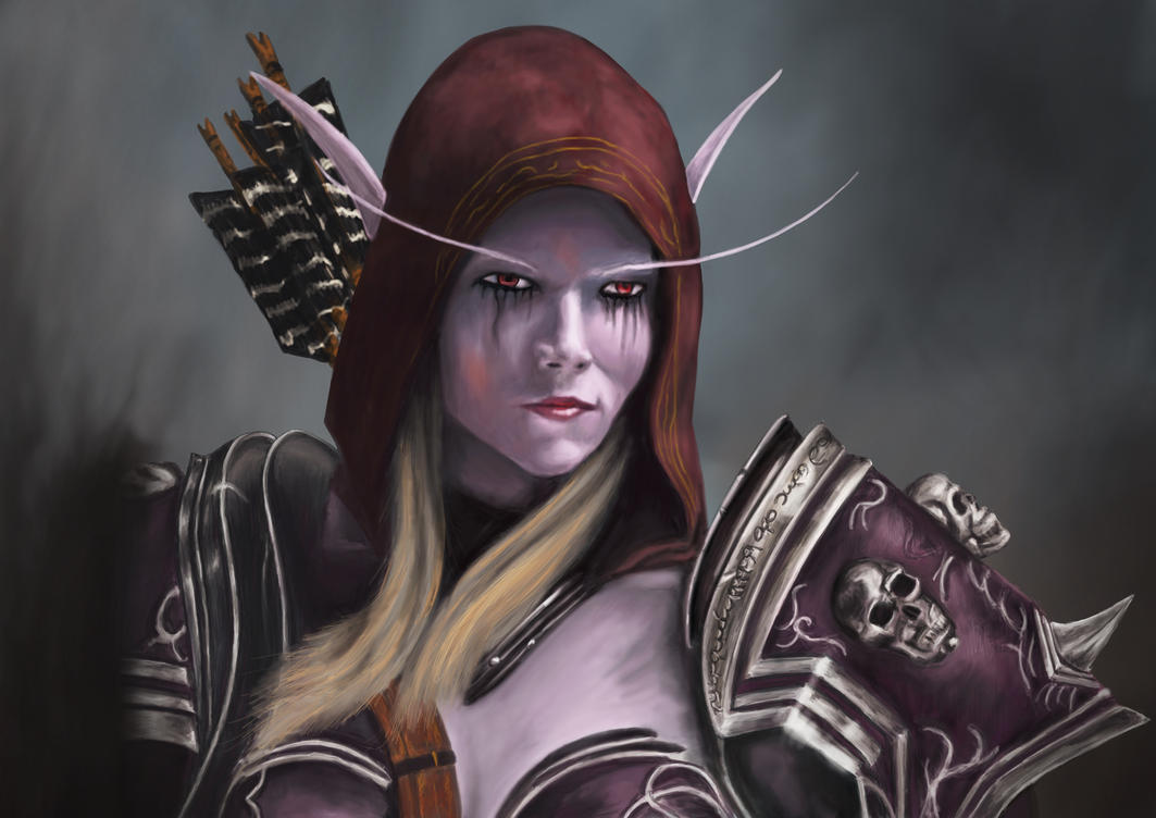 Sylvanas by Wivelrod