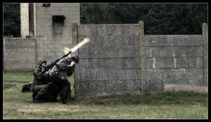 The Machine Gunner by Wivelrod