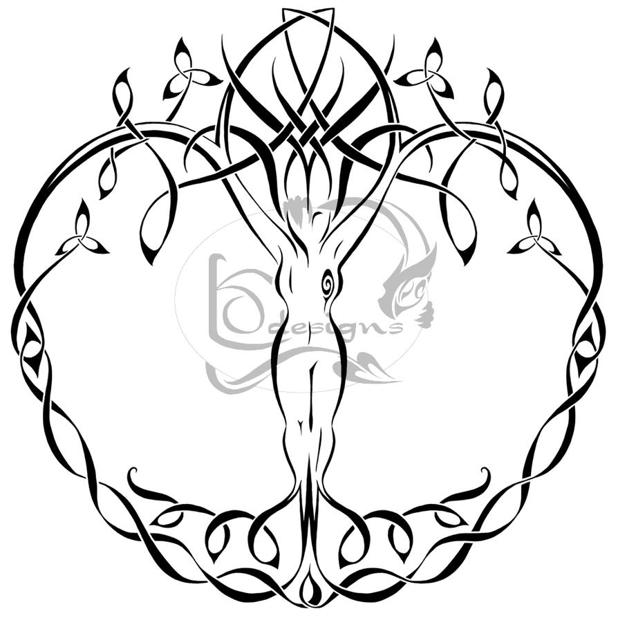 Live Life With No Regrets Tattoo Sketches Drawing Art: Tree Of Life By Lemondragon On DeviantArt