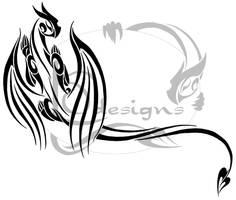 Dragon Tattoo by Lemondragon