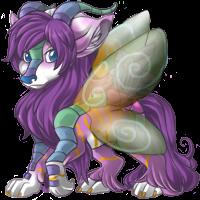 Butterfly corra by NinjaCube