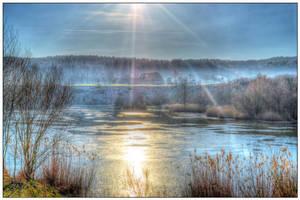 Icy Lake by whydinho